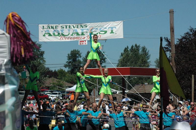 Lake Steven's Aquafest with have a great parade to watch.