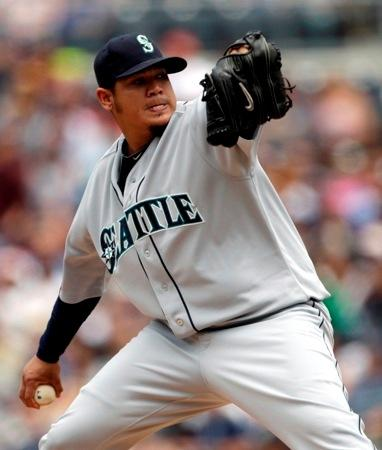 Felix Hernandez is under contract with the Mariners until 2014. KPLU sports commentator Art Thiel thinks the Mariners would get some good players if they traded the Cy Young Award winner. The trade deadline is Sunday, July 31.