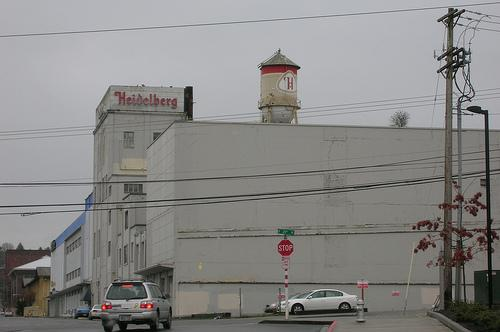 The brewery in Tacoma, shown here in better days, burned last night.