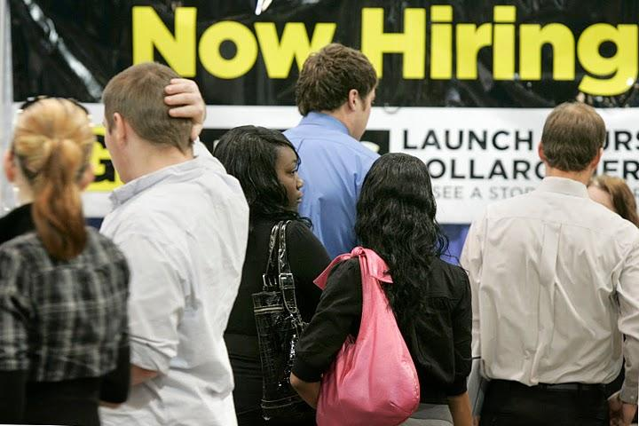 Employment surveys were indicating positive numbers about the economy earlier this year, but those signals have grown less clear in the past couple months.