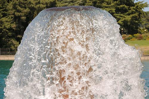 Fountain at Seattle's Volunteer Park. 7/16/2006