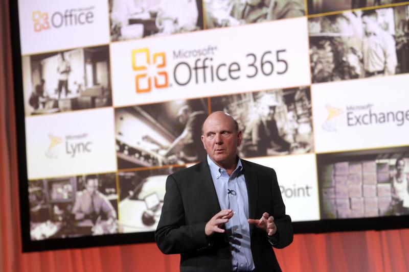 Microsoft's Office division continued to drive revenue growth for the company.