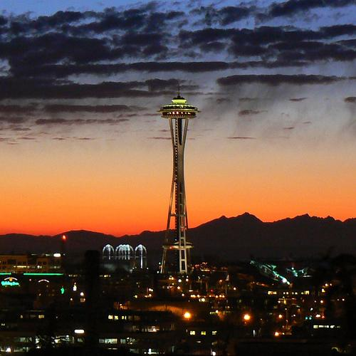 As a real estate developer in the early '60s, Bagley Wright was one of the original investors in the Space Needle.