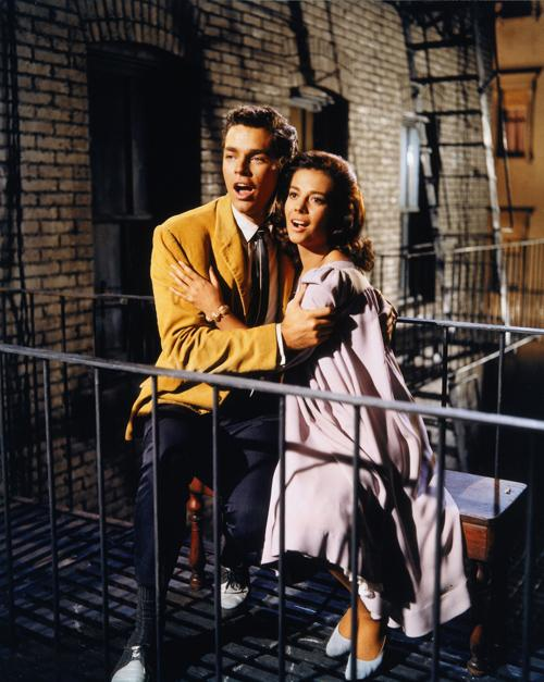 "Richard Beymer and Natalie Wood sing ""Tonight"" in the 1961 movie version of ""West Side Story."" The musical and movie are the subjects of a new book, ""Something's Coming, Something Good: West Side Story and the American Imagination"" by Misha Berson."