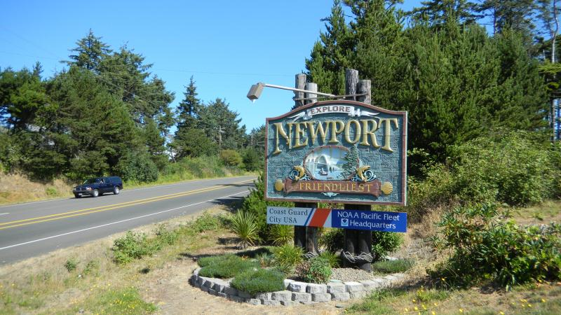 Newport has been rolling out the welcome mat for NOAA's new facility.