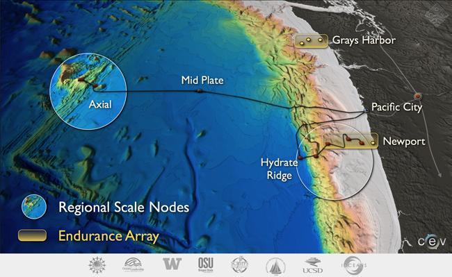 Map graphic courtesy of University of Washington.