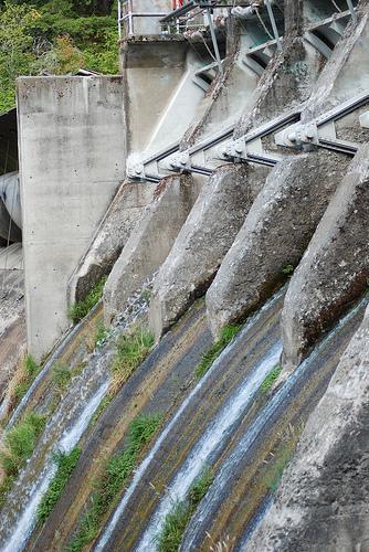 Condit Dam on the White Salmon River.