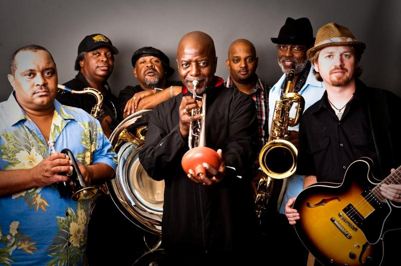 The Dirty Dozen Brass Band is just one out of numerous bands that will be performing at the festival.