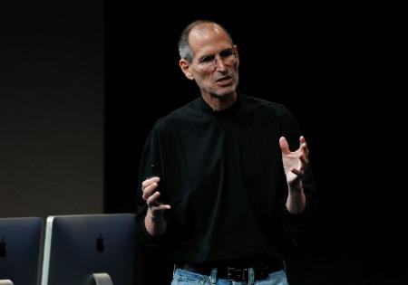 Steve Jobs photographed in 2010.