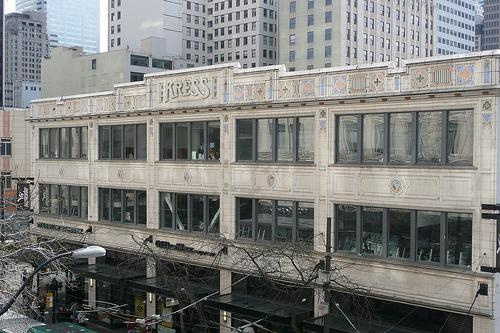 JC Penny's new location in downtown Seattle will be in the three-story Kress building at Third Avenue and Pike Street.