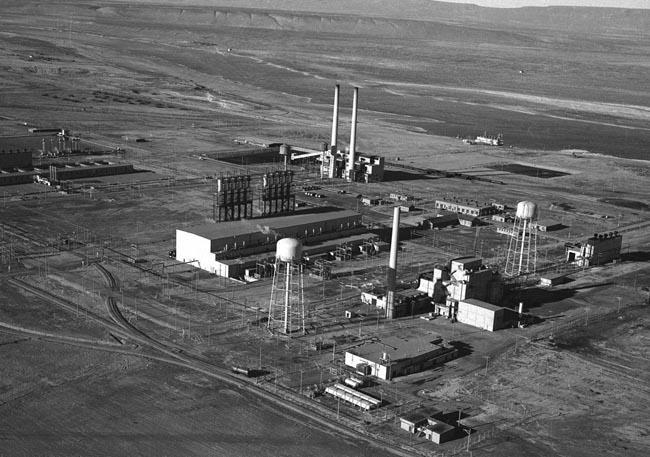 Hanford's B reactor.