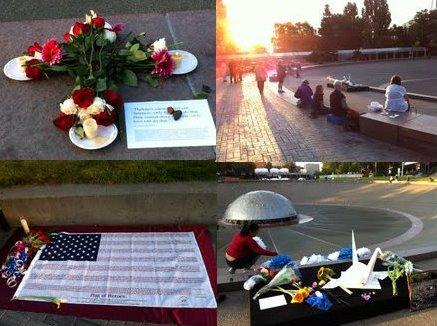 Images from Seattle Center on 9-11-2011.