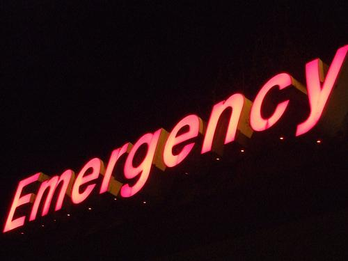 The Emergency Room Sign At Ballard Branch Of Swedish Hospital 4 19 07