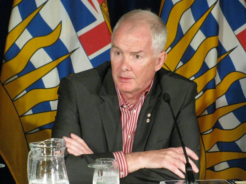 John Furlong, Co-Chair of the 2011 Vancouver Riot Review. He was also the CEO of the Vancouver Organizing Committee for the 2010 Olympic and Paralympic Winter Games.