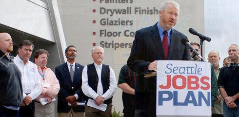 Seattle Mayor Mike McGinn.