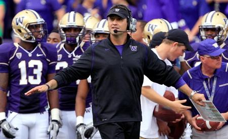 The University of Washington opens the 2011 season Saturday. It's the third year for head coach Steve Sarkisian.