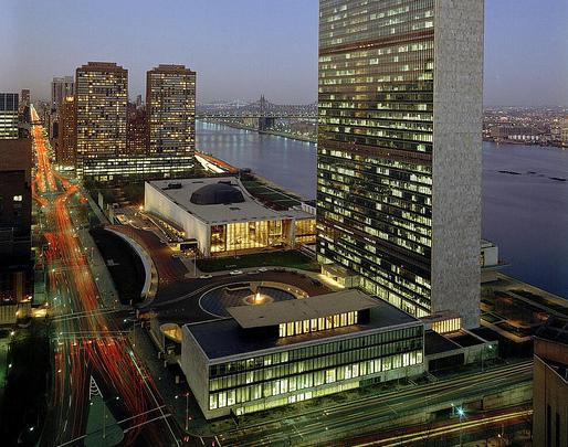 Headquarters of the United Nations.