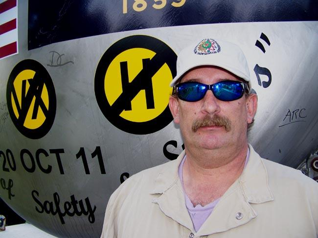 Dennis Cooper, 46, of Kennewick, was in charge of trucking the last ton container of mustard agent to the incinerator at the Umatilla Chemical Depot in northeast Oregon.