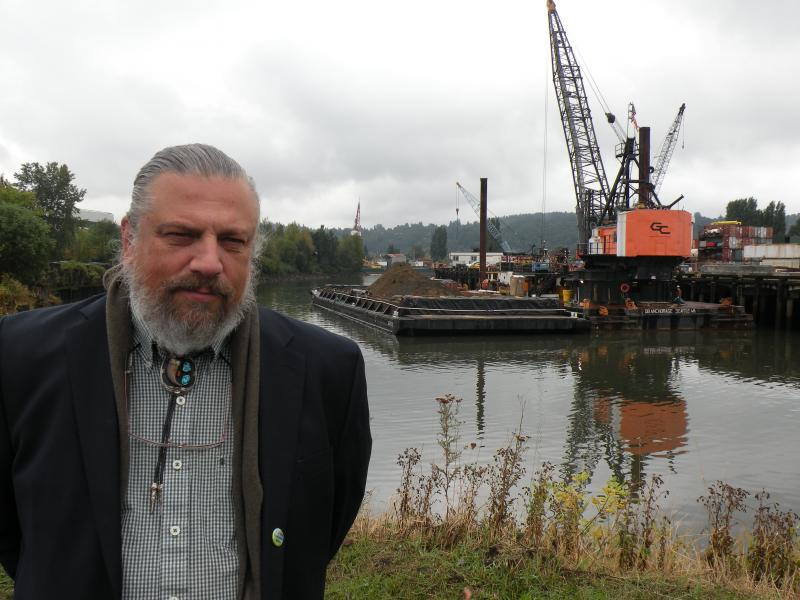 Duwamish Cleanup Coalition Coordinator, James Rasmussen, says the EPA's plan for restoring ecological health to the 32 square miles of Seattle's Superfund site should include the goal of being able to eat a fish out of the river.