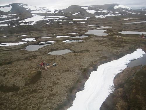 Site of the proposed Pebble Mine.