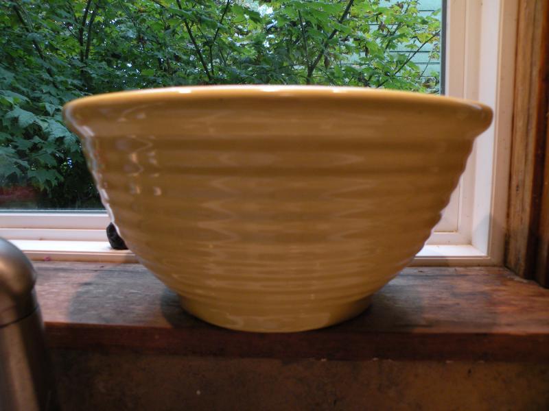 This bowl cries out to be filled with cake batter.