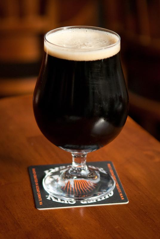 The vanilla bean smoked porter