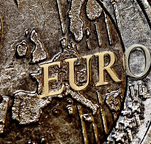 A Euro coin