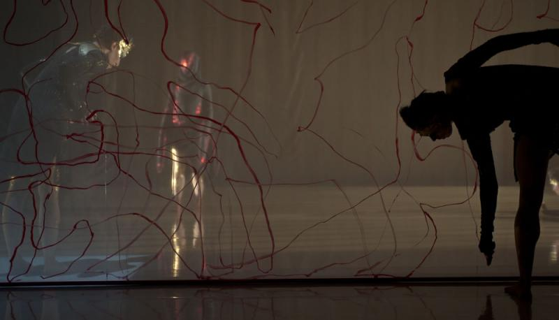 Performances by Seattle-based zoe|juniper integrate dance, video, sound, lighting to create highly-theatrical experiences.
