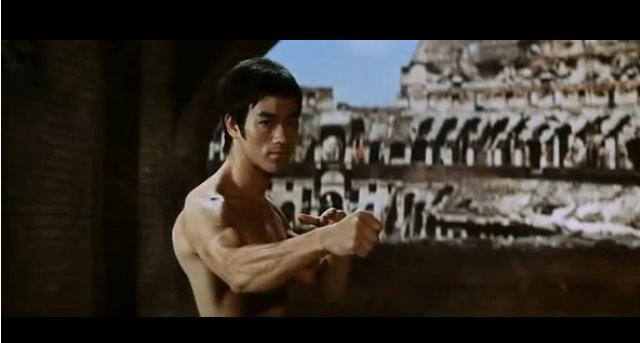 Bruce Lee in 'Way of the Dragon.'