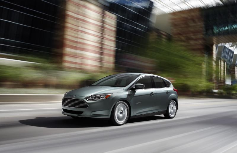 Ford's new Focus all-electric car.