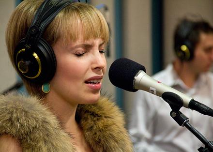 Sophie Milman performs in the KPLU Seattle studios on November 29, 2011.