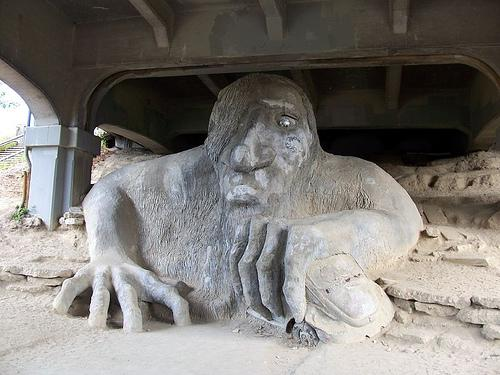 Seattle's Fremont Troll