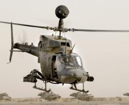 OH58 Kiowa Warrior.