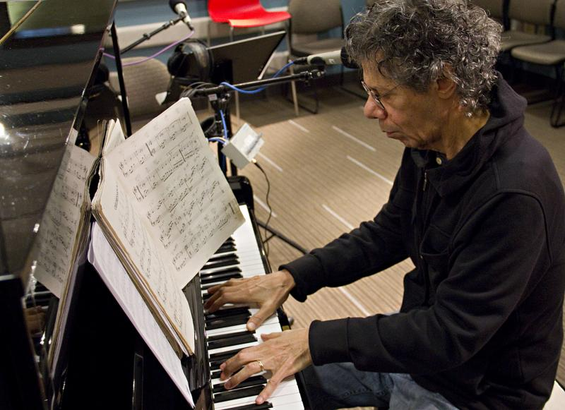 Chick Corea performing live in the KPLU Studios on Dec. 2, 2011.