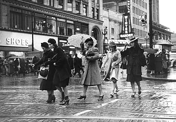 Seems like Seattle has never been big on umbrellas. We wonder why.