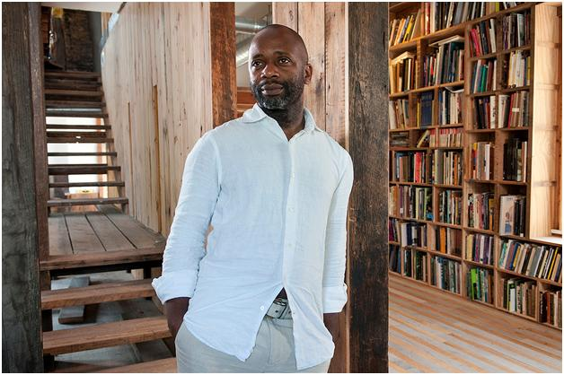 Theaster Gates is  Seattle Art Museum's 2011-12 Gwendolyn Knight/Jacob Lawrence fellow. The honor is given bi-annually to an early career black artist.