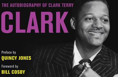 Part of the cover of Clark Terry's autobiography.