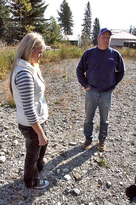 Chantell and Mike Sackett of Priest River, Idaho, were ordered to halt work on their home because the EPA says the plot is part of a wetland.