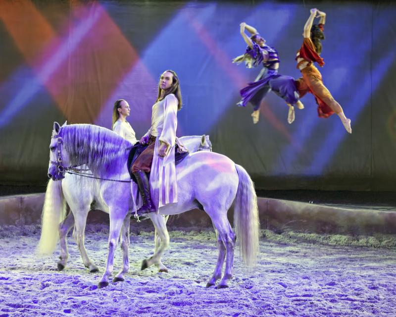"""Cavalia"" was created by Normand Latourelle, who co-created Cirque du Soleil."