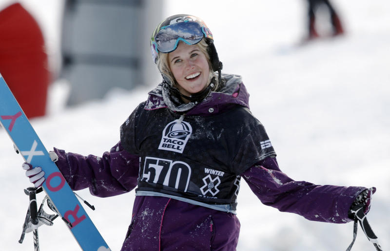 Sarah Burke, of Canada, shown in this 2010 photograph, died Thursday.