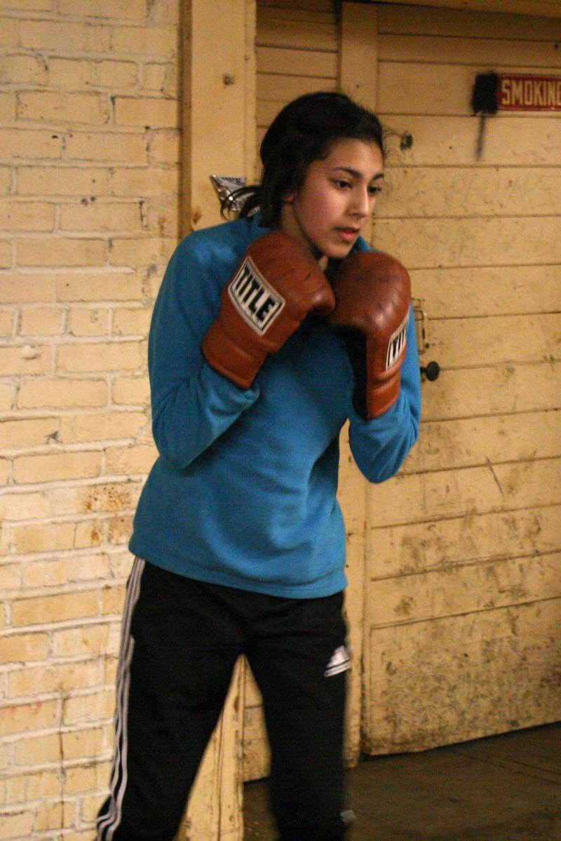 "Eleni Madrigal, 12, of Wenatchee will compete in an ""undercard"" event for young boxers at the U.S. Olympic Team trials in Spokane."