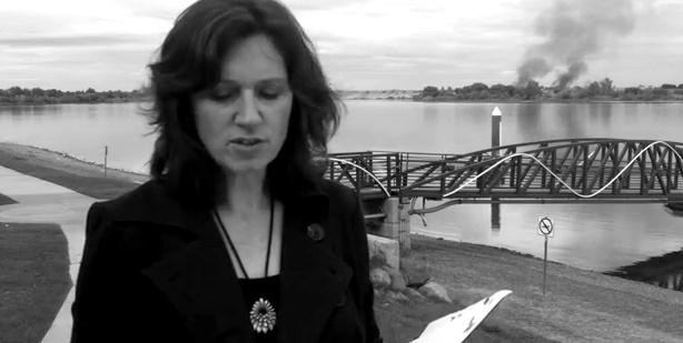 "Kathleen Flenniken reads from her newest collection of poems ""Plume"" in this image taken from a video exploring the influences behind the collection."