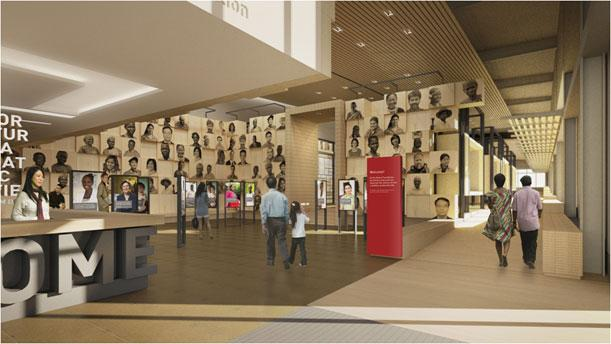 Image of the Gates Foundation's new visitor center.