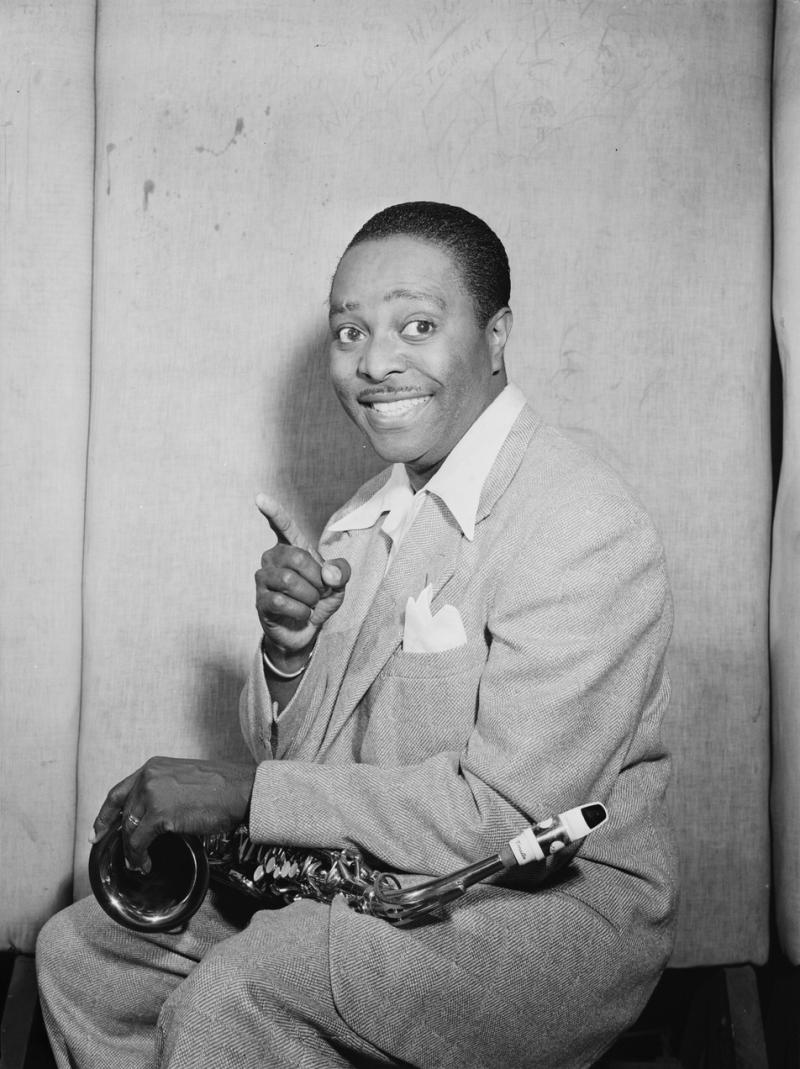 Louis Jordan's music was a bridge between jazz and rock.