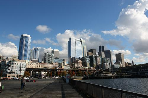 The economy is looking a bit brighter to the Seattleites we talked to on Friday.