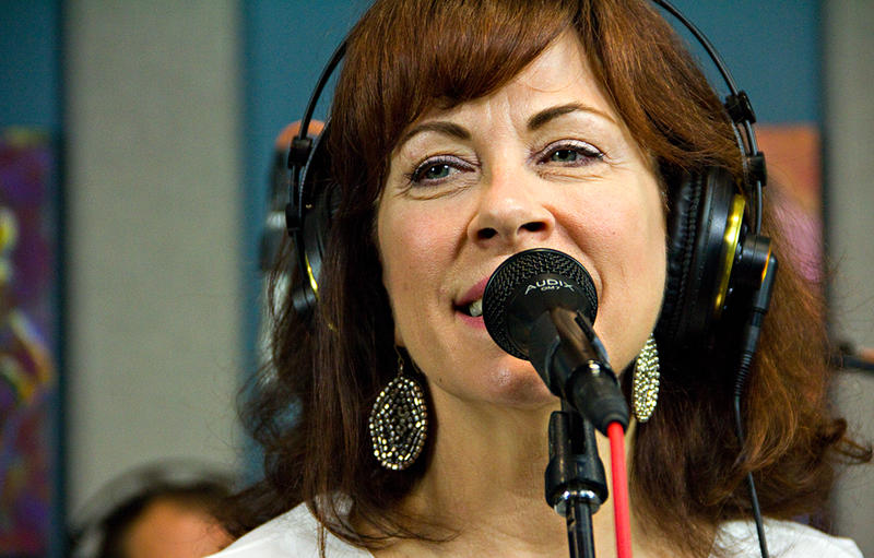Blues powerhouse, Janiva Magness, performing in the KPLU Seattle studios on May 15, 2012.
