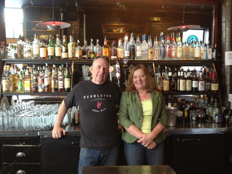 Cyclops owners Gina Kaukola and John Hawkley brace themselves for high liquor prices this summer once they exhaust their surplus.