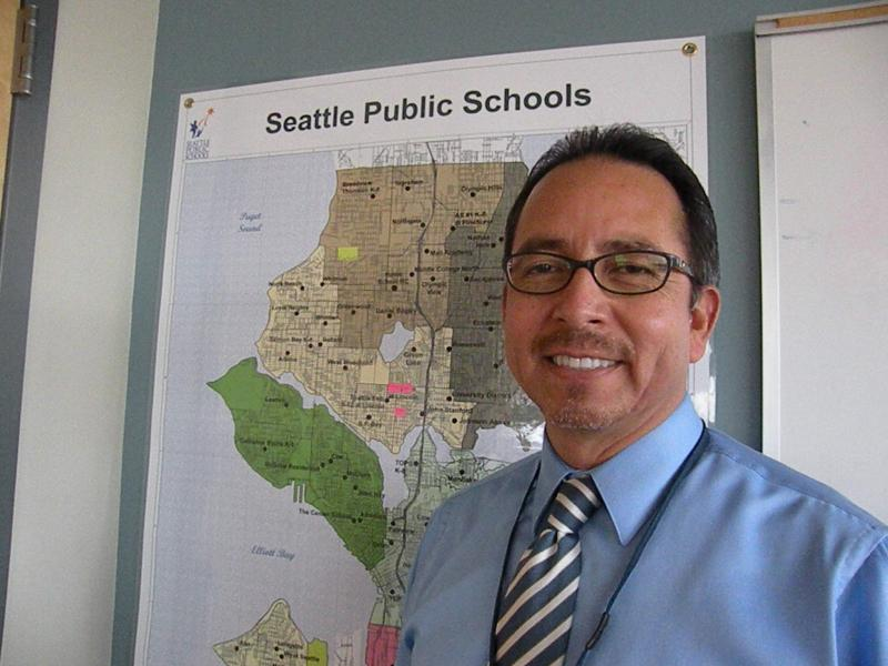 Seattle Public Schools superintendent Jose Banda has been on the job for one month.
