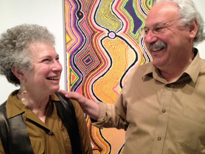 "Margaret Levi and Robert Kaplan have been collecting Australian Aboriginal art for years. Part of that ""addiction"" is now on display at the Seattle Art Museum."