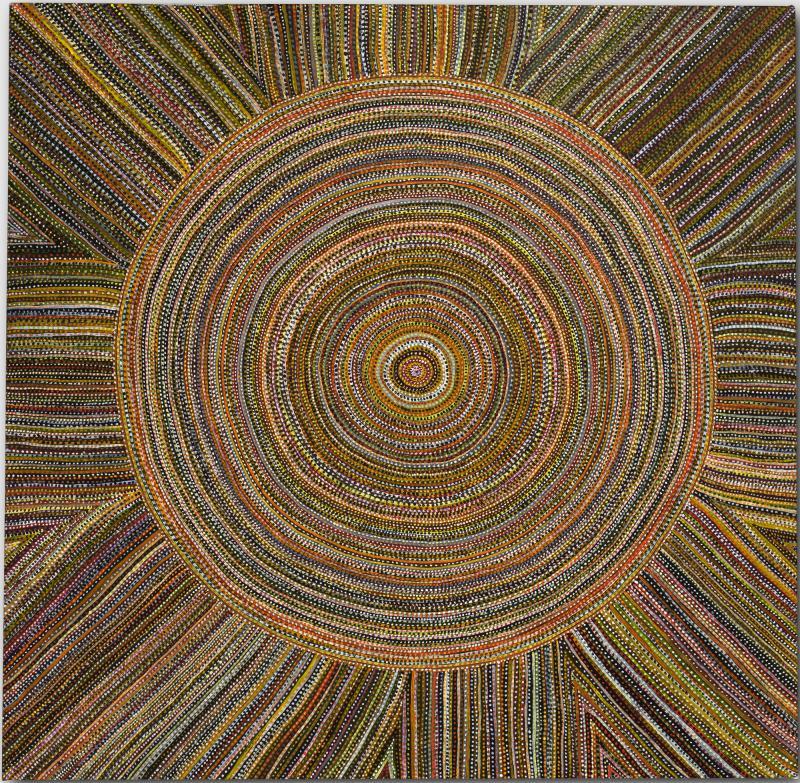 Sun Mat (02.004), 2002 by Regina Pilawuk Wilson